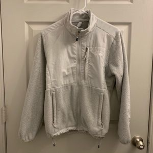 Grey North Face Jacket- Medium